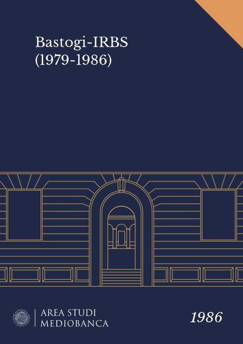Immagine copertina - Bastogi-IRBS (1979-1986)
