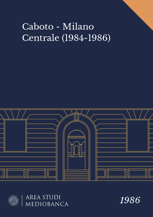 Immagine copertina - Caboto - Milano Centrale (1984-1986)