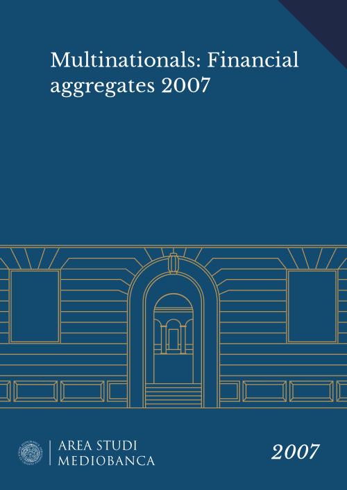 Immagine copertina - Multinationals: Financial aggregates 2007