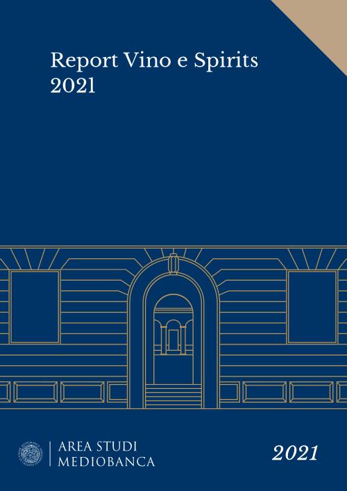 Immagine copertina - Report Vino e Spirits 2021