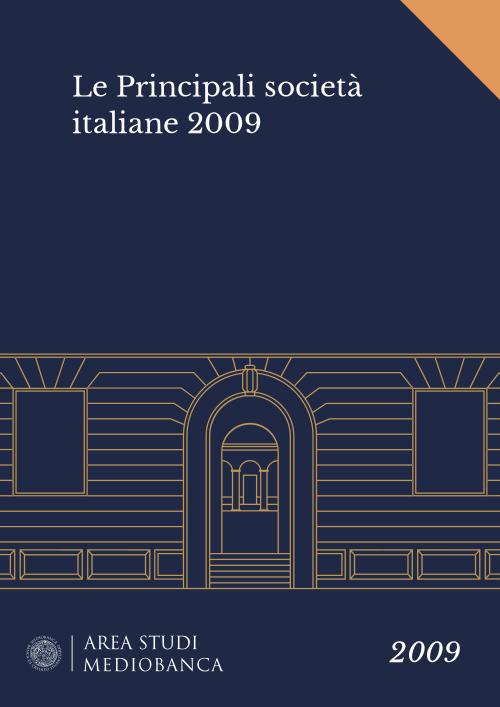 Immagine copertina - Le Principali società italiane 2009