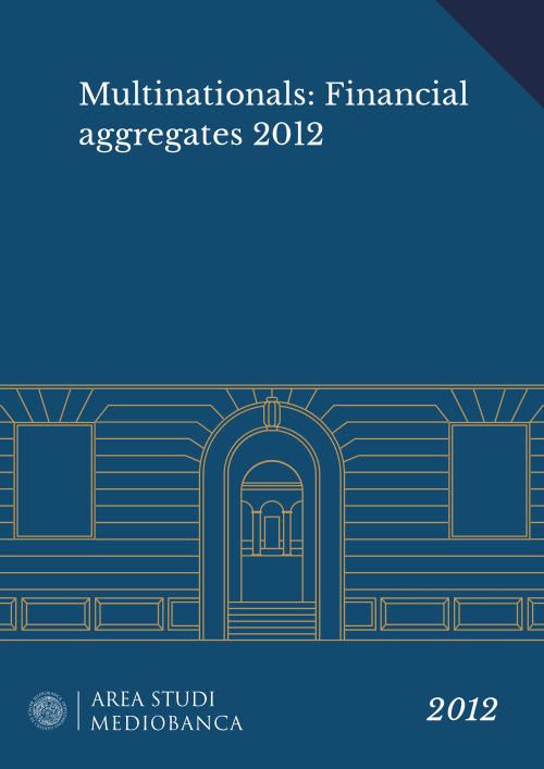 Immagine copertina - Multinationals: Financial aggregates 2012