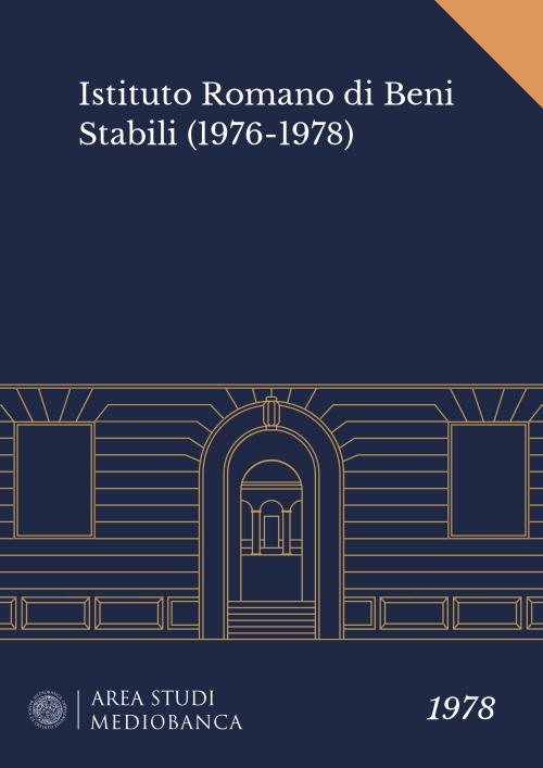 Immagine copertina - Istituto Romano di Beni Stabili (1976-1978)