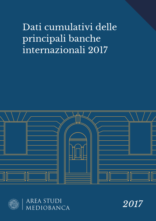 Immagine copertina - Dati cumulativi delle principali banche internazionali 2017
