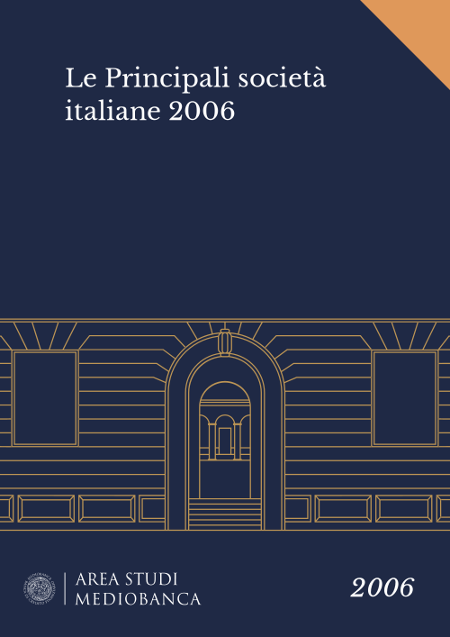 Immagine copertina - Le Principali società italiane 2006