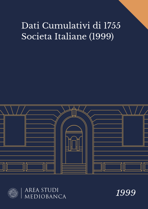Immagine copertina - Dati Cumulativi di 1755 Societa Italiane (1999)
