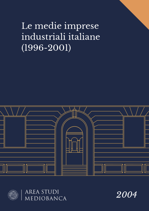 Immagine copertina - Le medie imprese industriali italiane (1996-2001)