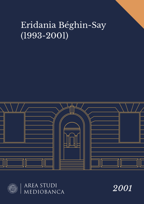 Immagine copertina - Eridania Béghin-Say (1993-2001)