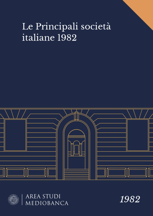Immagine copertina - Le Principali società italiane 1982