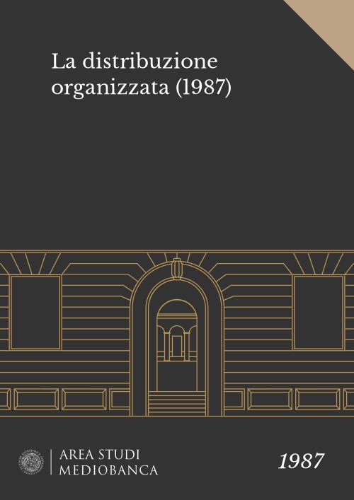 Immagine copertina - La distribuzione organizzata (1987)