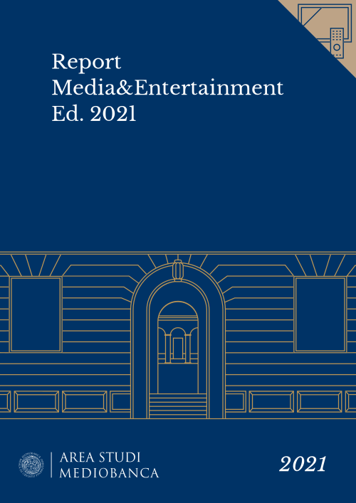 Immagine copertina - Report Media&Entertainment Ed. 2021