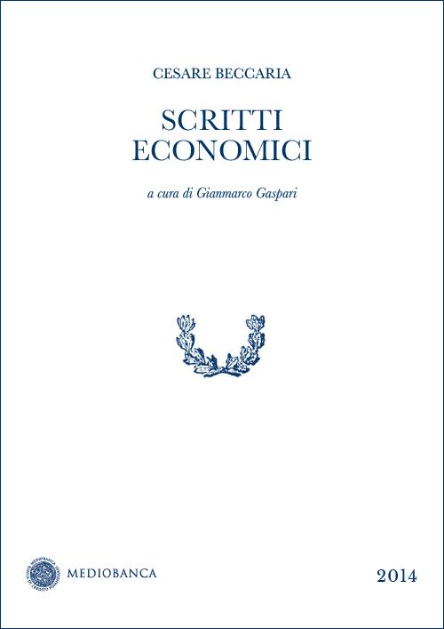 Immagine copertina - Scritti economici