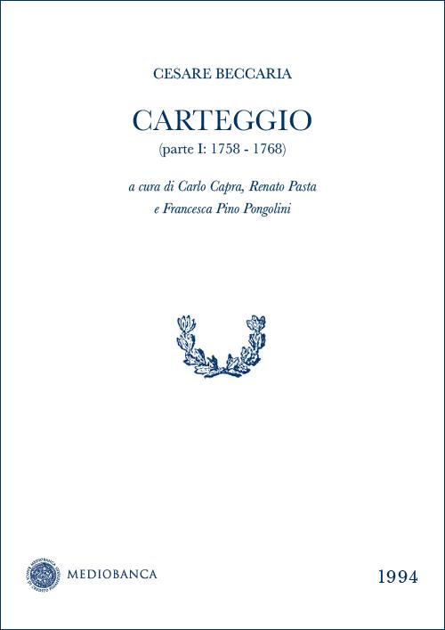 Immagine copertina - Carteggio
