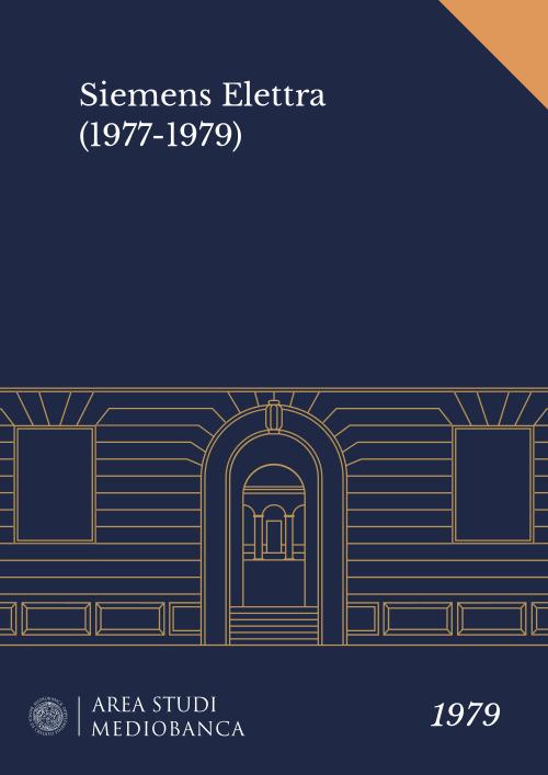 Immagine copertina - Siemens Elettra (1977-1979)
