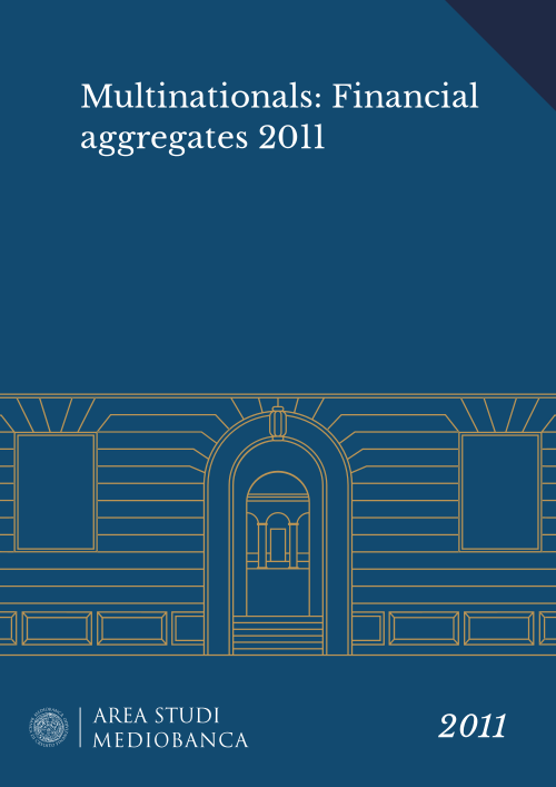 Immagine copertina - Multinationals: Financial aggregates 2011