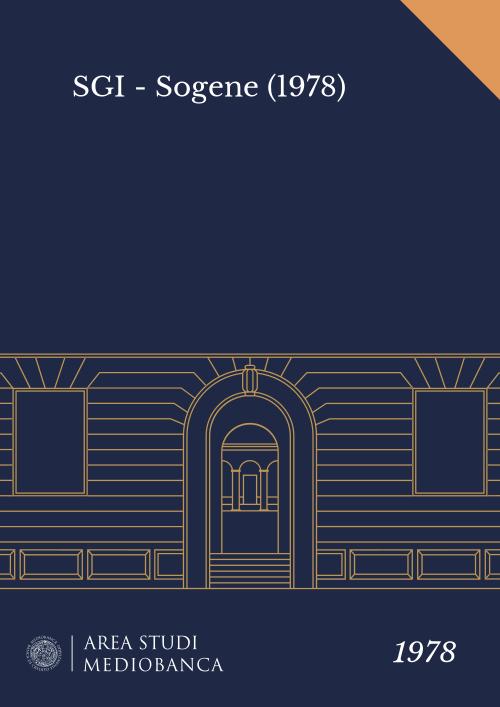 Immagine copertina - SGI - Sogene (1978)