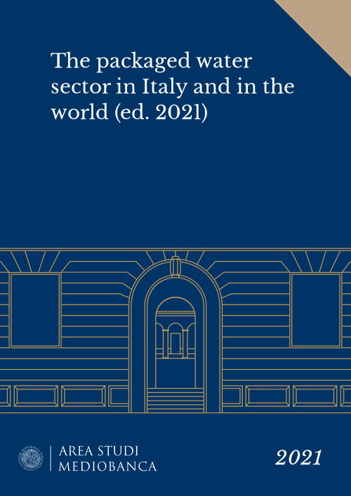 Immagine copertina - The packaged water sector in Italy and in the world (ed. 2021)