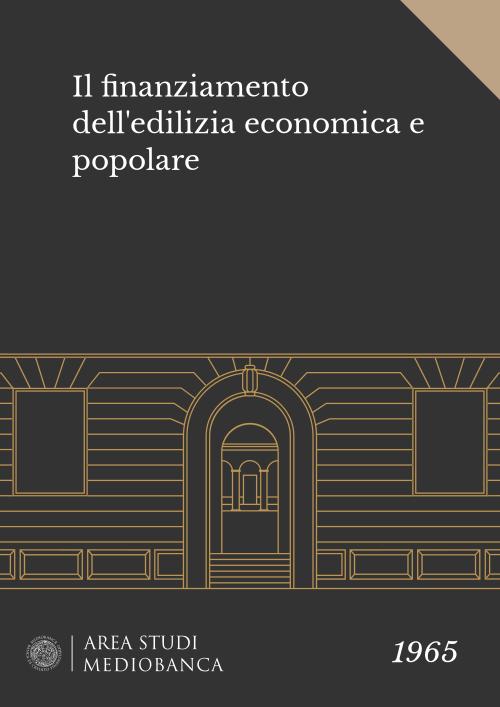 Immagine copertina - Il finanziamento dell'edilizia economica e popolare
