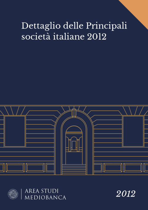 Immagine copertina - Dettaglio delle Principali società italiane 2012