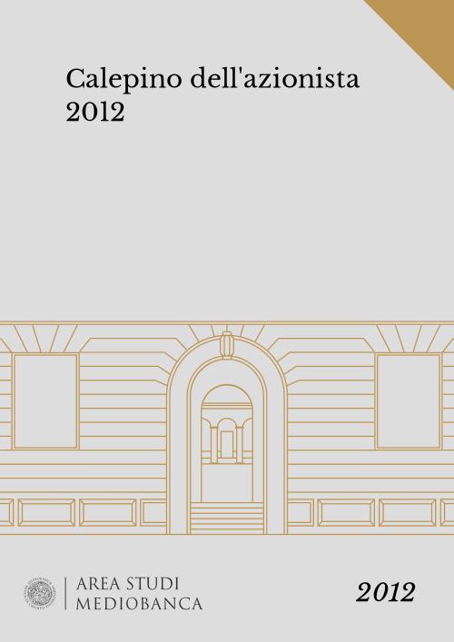 Immagine copertina - Calepino dell'azionista 2012