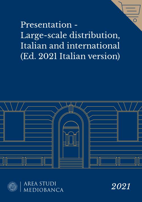 Immagine copertina - Presentation - Large-scale distribution, Italian and international (Ed. 2021 Italian version)