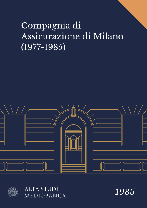 Immagine copertina - Compagnia di Assicurazione di Milano (1977-1985)