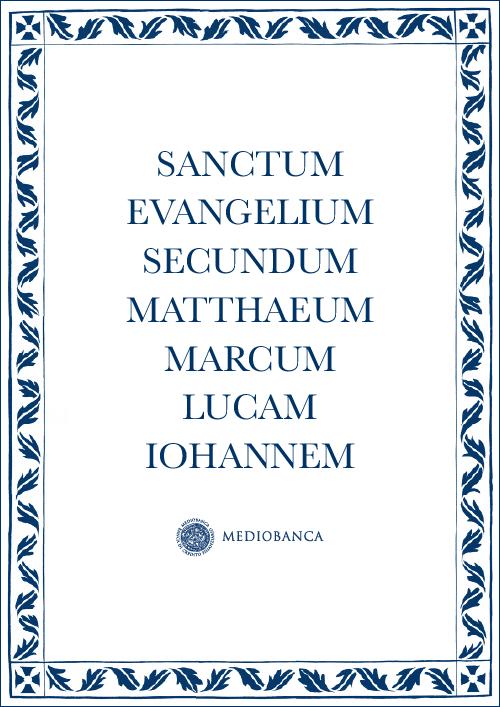 Immagine copertina - Sanctum Evangelium secundum Matthaeum, Marcum, Lucam, Iohannem