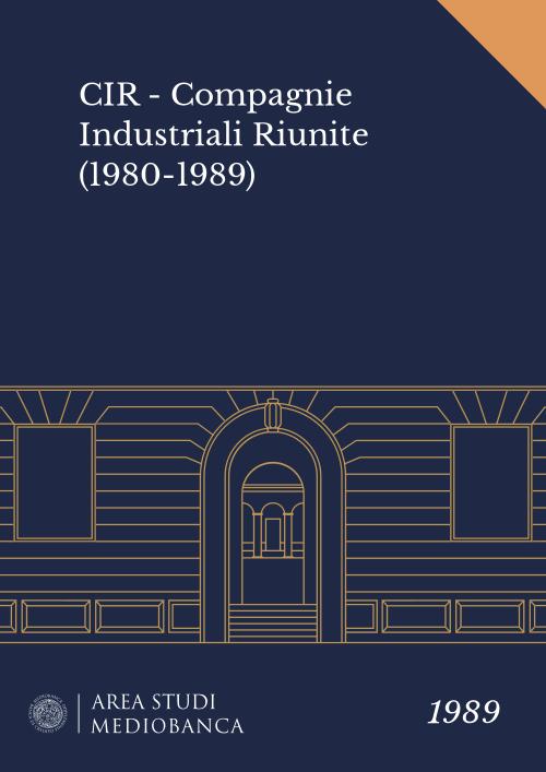 Immagine copertina - CIR - Compagnie Industriali Riunite (1980-1989)