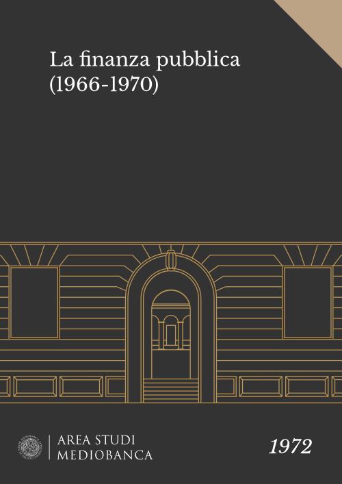 Immagine copertina - La finanza pubblica (1966-1970)