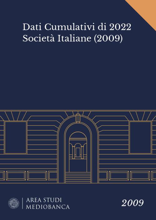 Immagine copertina - Dati Cumulativi di 2022 Società Italiane (2009)